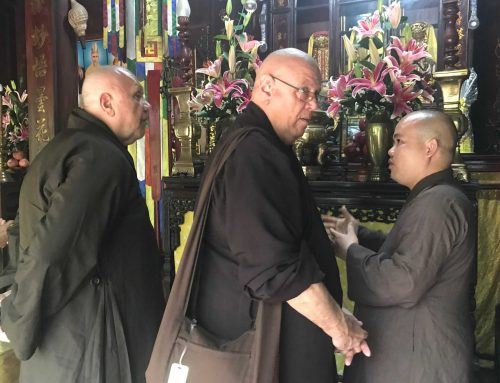 How to listen to a Buddhist monk