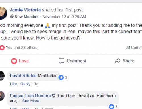 Advice to Those New To Buddhism